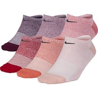 Women's Nike Everyday Lightweight No-Show Training Socks (6 Pair)