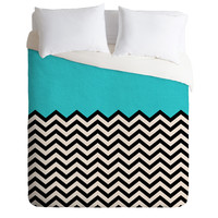 Bianca Green Follow The Sky Duvet Cover