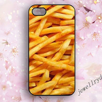 French fries iphone 4s case,Food iphone 4 case,Kawaii iphone 5s case,iphone 5 cover,Funny Cool Rubber Phone Case,samsung galaxy s4 s5 cover