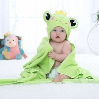 Kids Animal Cotton baby Hooded Towel