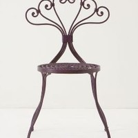 LaVersha Chair, Plum | Anthropologie