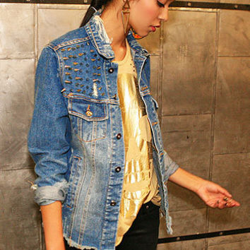 Delinquent Denim Jacket - Denim Jackets at Pinkice.com