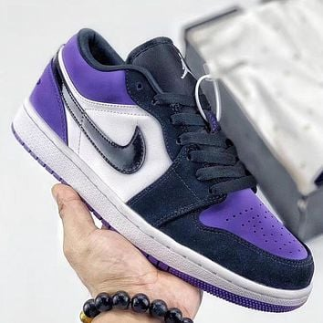 Trendsetter Nike Air Jordan 1 Low AJ1  Women Men Fashion Casual Old Skool Shoes