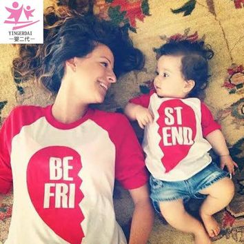 Mother and Daughter Clothes Shirt