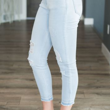 Soft Stretch Cropped Jeggings
