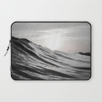 Motion of Water Laptop Sleeve by Nicklas Gustafsson