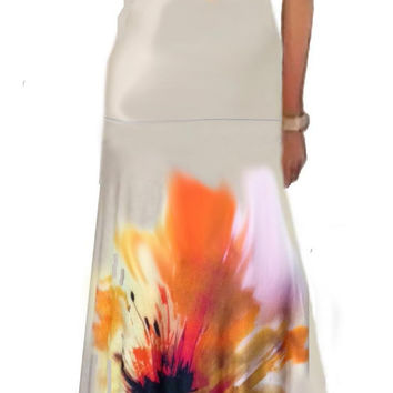 Ultimate Maxi Skirt Hand Painted Made To Measurement