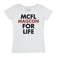 Magcon For Life-Female White T-Shirt