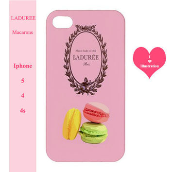 Iphone 5  / 4 / 4s Case  - Pink Paris Fashion Cover - Iphone 5 case,Iphone 4/4s case,Iphone 5 cover,Iphone 4 /4s cover,Iphone 5 /4 / 4s skin