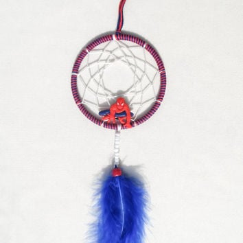 Spiderman Dreamcatcher-bedroom decoration- wall hanging