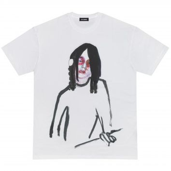 Raf Simons Guitar Boy T-Shirt (White)