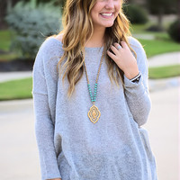 Piko Sweater-Grey