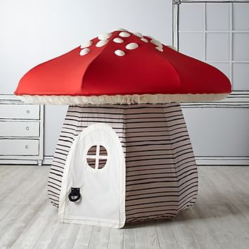 Mushroom Playhouse. & Mushroom Playhouse. from Crate and Kids | Just For Kids