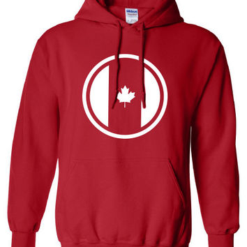 Canada Canadian Pride Proud Olympic Team Military hockey support great white north hoodie hooded sweatshirt Mens Ladies swag Canada ML-246h
