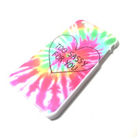 Tumblr Tie Dye iPhone Case