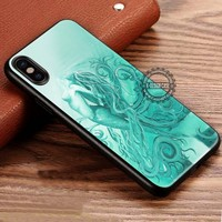 Mint Green Painting Mermaid iPhone X 8 7 Plus 6s Cases Samsung Galaxy S8 Plus S7 edge NOTE 8 Covers #iphoneX #SamsungS8