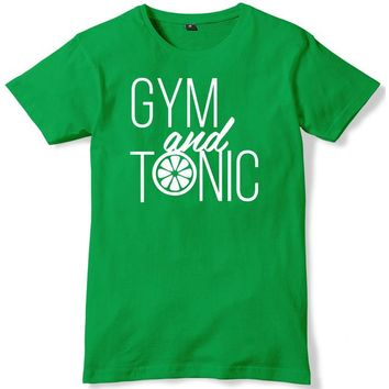Gym And Tonic - Fitness T-shirt