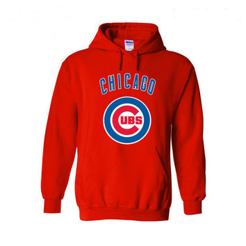 Chicago Cubs Baseball Hoodies- 5 Color Variations