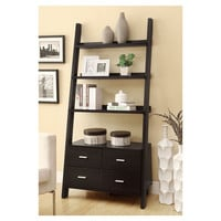You should see this Delaware Bookshelf in Black in Cappuccino on Daily Sales!