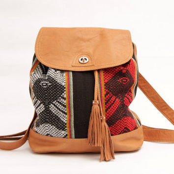 The Inca Backpack & shoulder by SABRINATACH