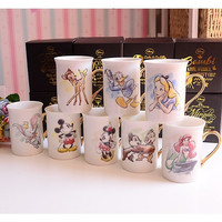 Disney character mugs.