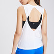 Twisted Open-Back Muscle Tee