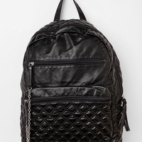 Kimchi Blue Quilted Faux Leather Backpack