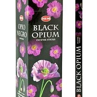 Black Opium Incense Sticks