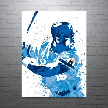 Bo Jackson Kansas City Royals Poster