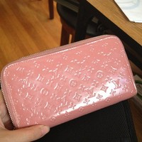 Pink Louis Vuitton Wallet