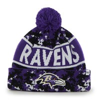 '47 Brand Baltimore Ravens Armory Digital Camouflage Cuffed Knit Cap - Adult