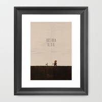 Where the Wild Things Are Framed Art Print by OurbrokenHouse
