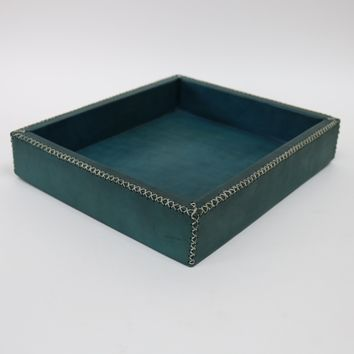 Delfín | Turquoise Valet Tray