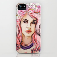 Young & Beautiful  iPhone & iPod Case by Sara Eshak