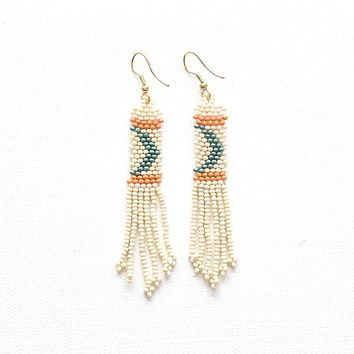 Petite Fringe Seed Bead Earrings | Multiple Colors