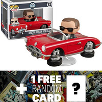 Director Coulson With Lola: Funko POP! Rides x Agents of S.H.I.E.L.D. Vinyl Figure + 1 FREE Official Marvel Trading Card Bundle [63283]