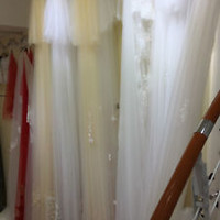 High Quality 1T Round Single Layer Bridal Veil with Lace Trim No Comb (3m*3m)