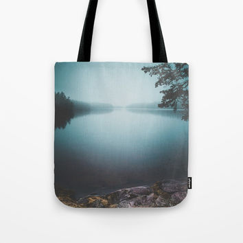 Lake insomnia Tote Bag by HappyMelvin