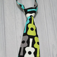 Baby Boy Guitar Neck Tie various sizes