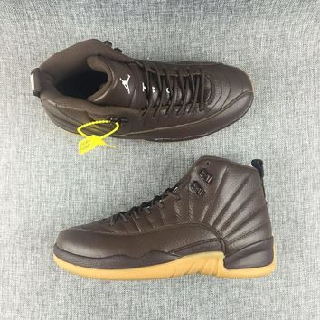 Air Jordan 12 Retro Chocolate PE AJ12 Sneakers - Best Deal Online