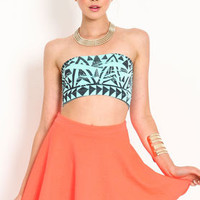 Tribal Print Bandeau - LoveCulture