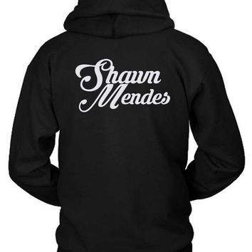 ESBH9S Shawn Mendes Title Hoodie Two Sided