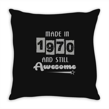 made in 1970 and still awesome Throw Pillow