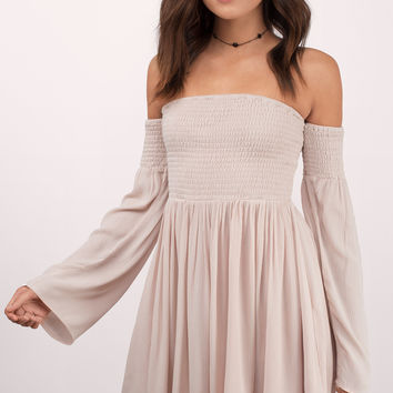 Ellie Off The Shoulder Dress