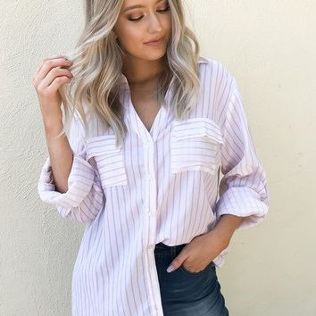 Gabrielle Button Up Top
