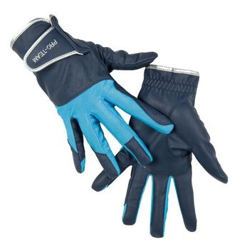 HKM Riding Gloves - Neon Sports