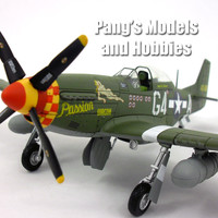 North American P-51 Mustang 1/48 Scale Diecast Metal Airplane by Hobby Master