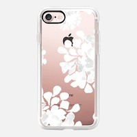 white flowers iPhone 7 Carcasa by Marianna | Casetify