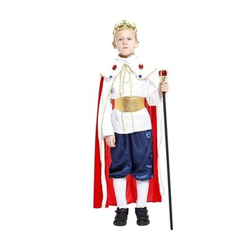 3 size new boys Royal king halloween king cosplay costumes children Ancient king Prince suit for kids full children's costume