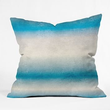 RosebudStudio Blue Fade Throw Pillow